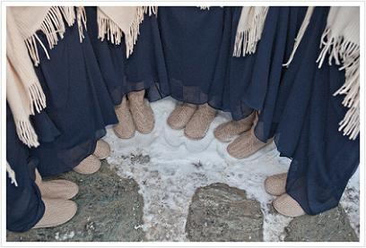 Winter Booties...