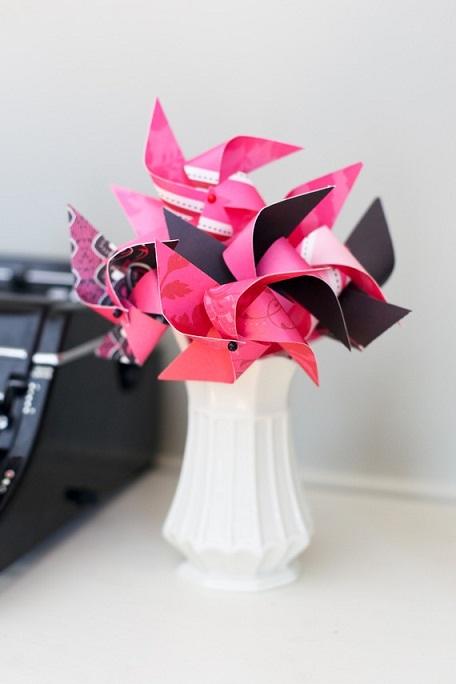 Pink Pinwheels...