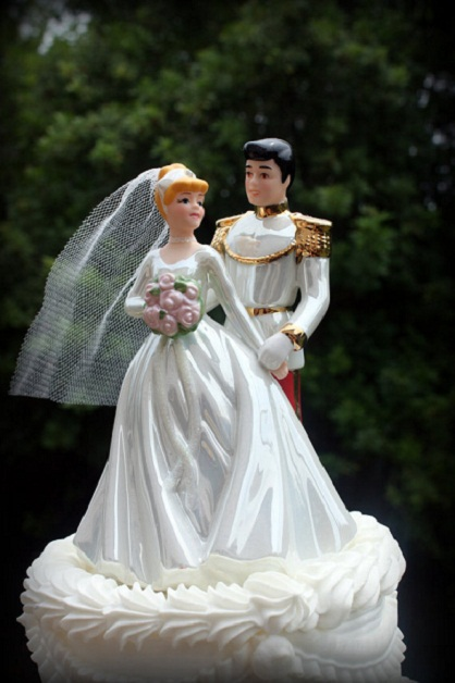 Prince Charming Cake Topper...