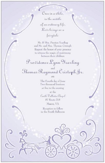 Fairytale Invitation...