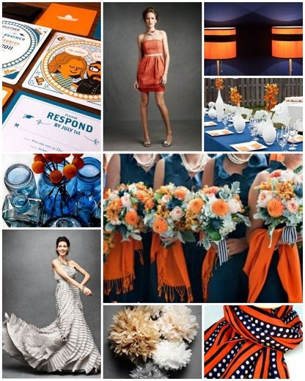 6 Perfect Combinations for Fall Wedding Colors...