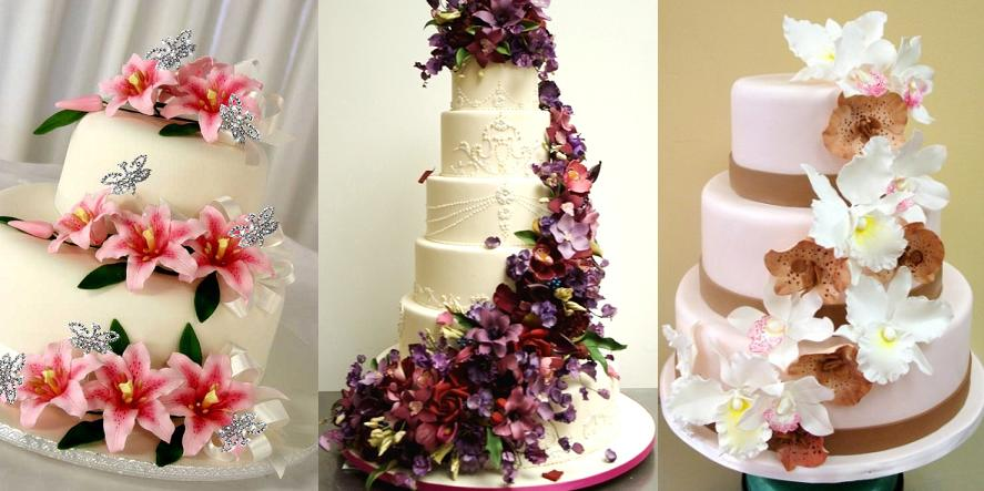 Wedding Cakes With Gumpaste Flowers Floral Fun Cake Ideas Your Guests Will Love