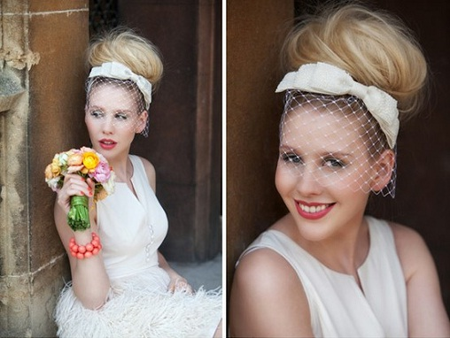 High Bun Summer Wedding Hairstyle...
