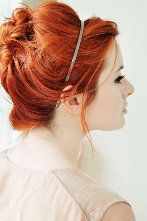 Messy Updo Summer Wedding Hairstyle...