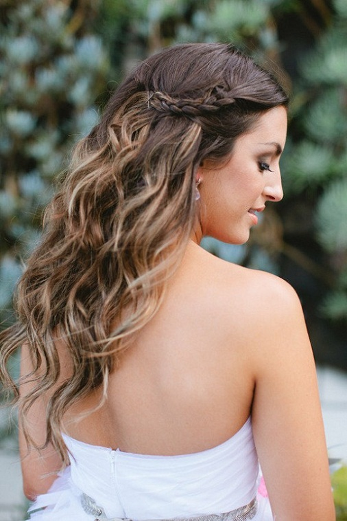 Fabulous 6 Wavy Summer Wedding Hairstyle 10 Gorgeous Hairstyles For Your Short Hairstyles Gunalazisus