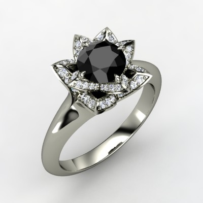 Engagement Ring Wedding Beautiful Black Diamond Wedding Rings For Him