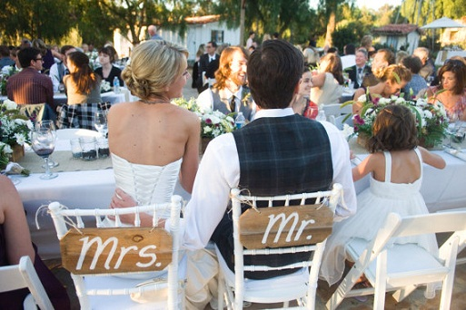 Mr. & Mrs. Chair Signs...