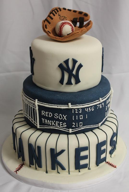 Yankee Birthday Cake Ideas