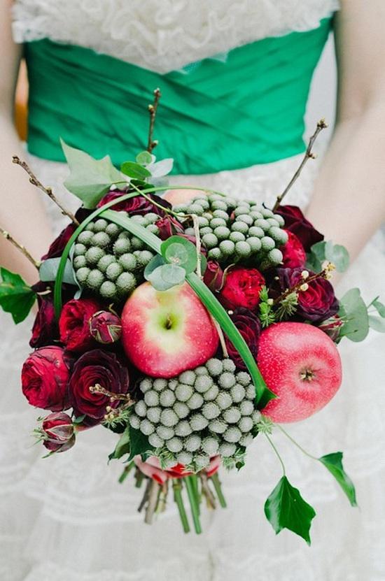 Apple Decor Wedding Bouquet...