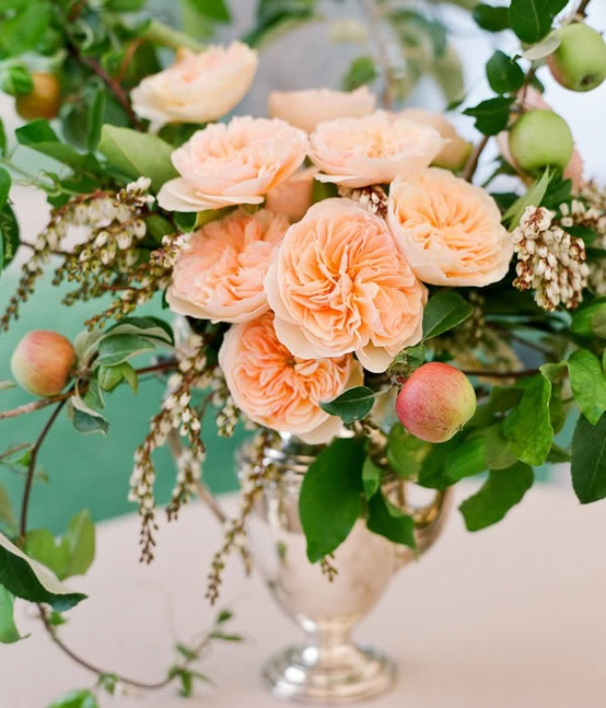Apple Decor Wedding Centerpieces...