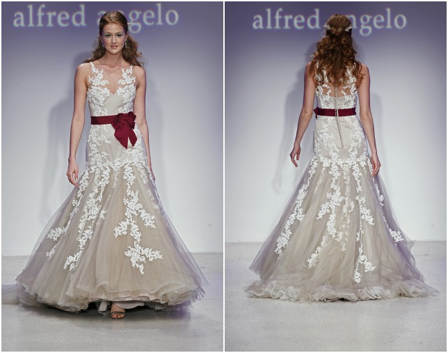 Alfred Angelo Lace Gown