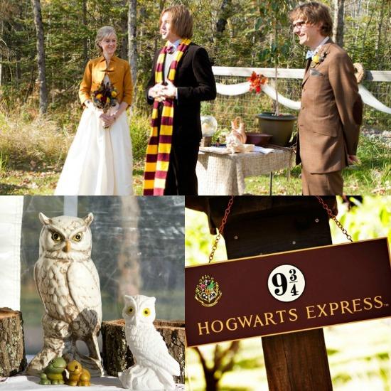 Harry Potter Inspired Wedding...