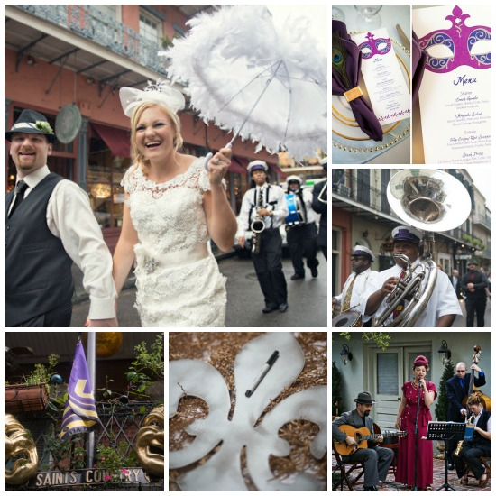 Mardi Gras Holiday Theme Wedding...