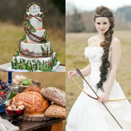 The Hunger Games Inspired Wedding...