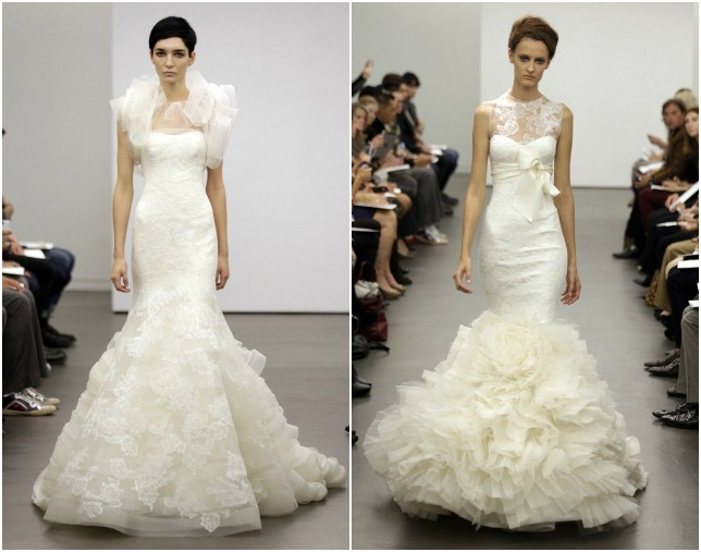 Wedding dresses vera wang lace
