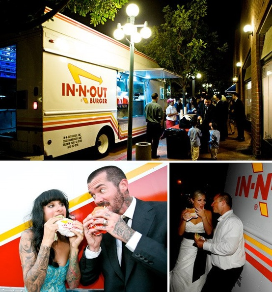 Food Truck Wedding after Party...