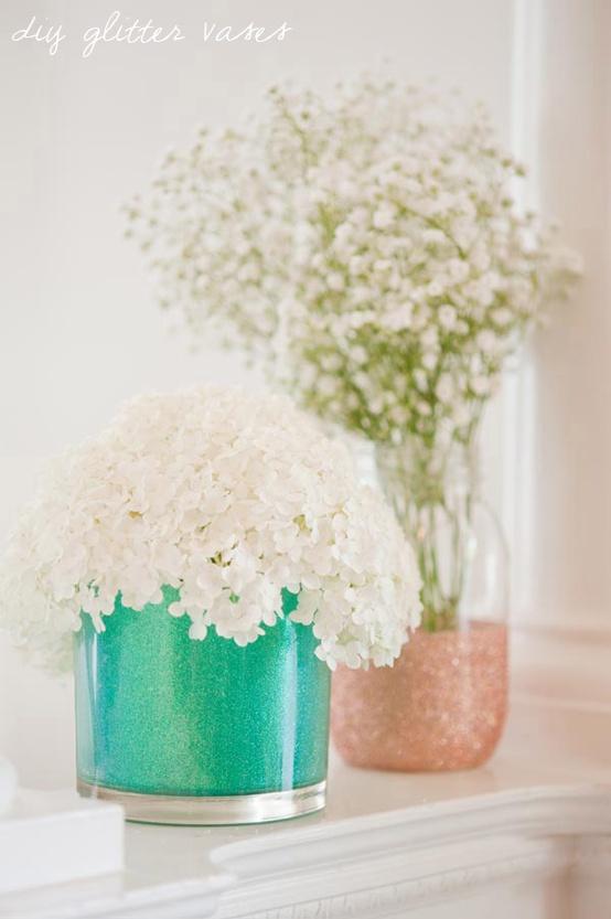 Hibride - Свадебный мастер-класс. Декорируем вазы.