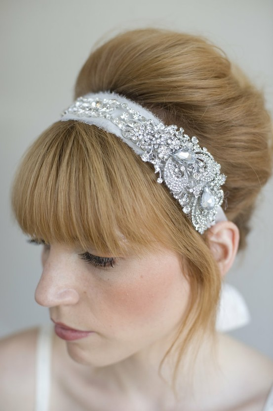 Sparkly Wedding Headpiece...