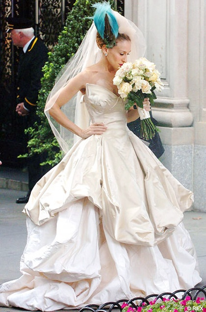 Sex & the City Movie Wedding Dress...