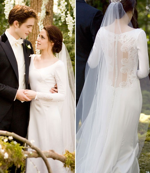 Twilight Movie Wedding Dress....