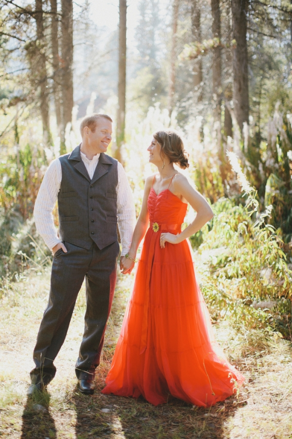 Red Vintage Wedding Dresses Vintage Red Wedding Dress
