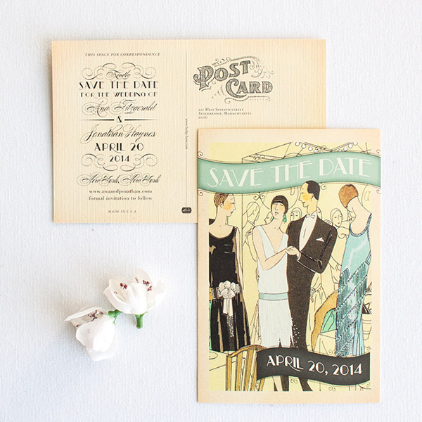 Great Gatsby save the Date...