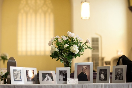 Memory Table Ideas life celebration ideas how to plan a memorial service funeral planningfuneral ideasmemory tablefuneral By Far One Of The Most Popular Wedding Memorial Ideas Setting Up A Memory Table Featuring Pictures Of Your Departed Loved Ones Is A Wonderful Way To Honor