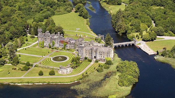 One Of The Best Among Some Excellent Castles For Weddings In Ireland Is Ashford Located Near Village Cong County Mayo Castle Set