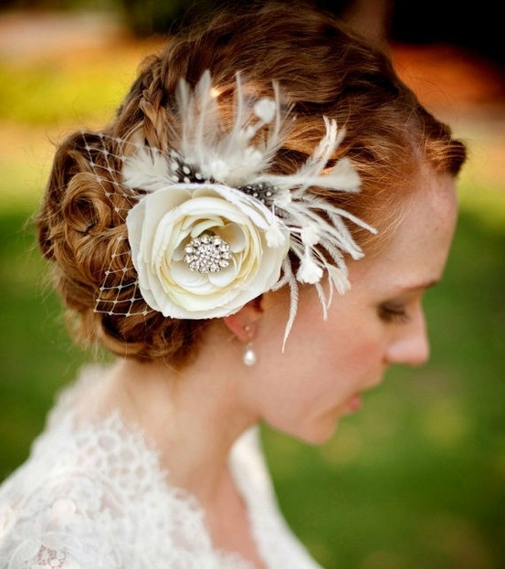 Ivory Lace Hair Flower Reviews  Online Shopping Ivory