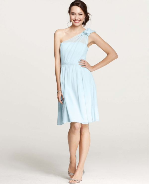7 gorgeous bridesmaid dresses for the most beautiful fall for Wedding dresses ann taylor