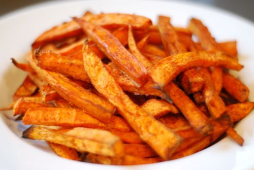 Baked Sweet Potato Fries - 8 Mouth-watering Paleo Snack Recipes…