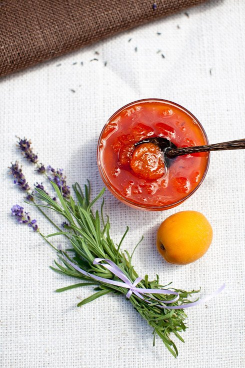 39. Apricot Jam with Lavender - 41 Stunning Edible Flower Recipes…
