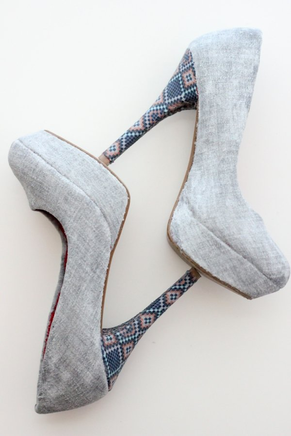 Gorgeous Fabric Shoes
