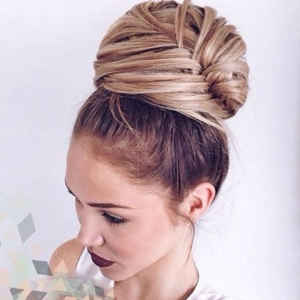 hair, hairstyle, head, bun, chignon,