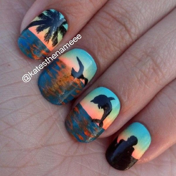 248 Creative Nail Art Designs For Girls Looking To Up