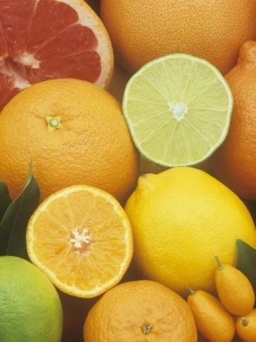 Citrus Fruits (Grapefruit, Lemons, Oranges)