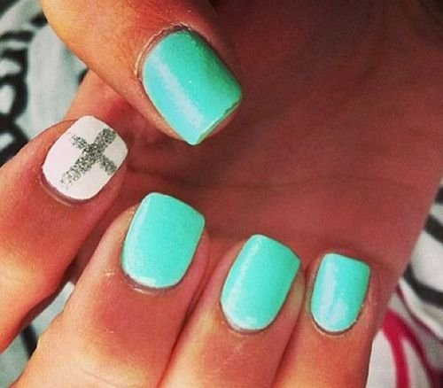 Religious aspects the nail art patterns fashionable girls nailcolorfingernail caregreen source 24 cute nail art designs prinsesfo Gallery