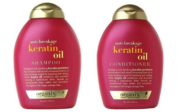 OGX anti-breakage Keratin Oil Shampoo and Conditioner for Weak or Damaged Hair