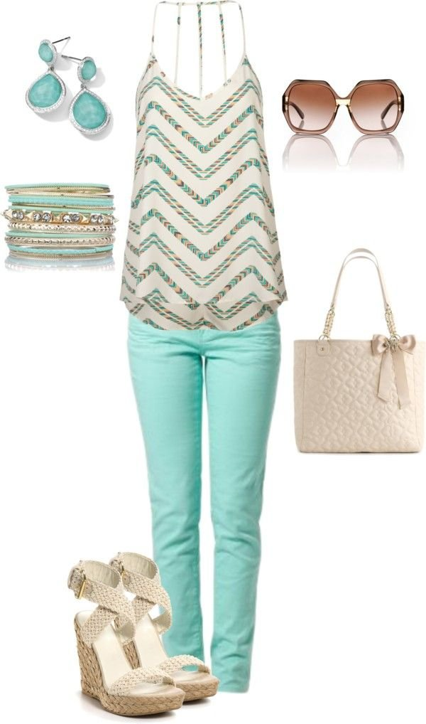 Tiffany Blue Outfit