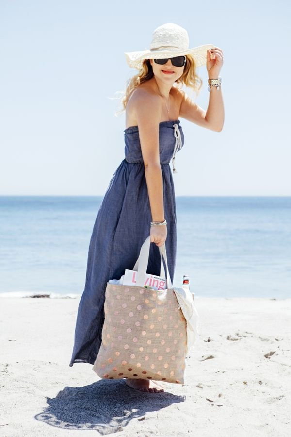 DIY Honeymoon Beach Bag