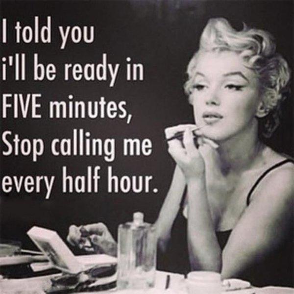 FIVE Minutes!