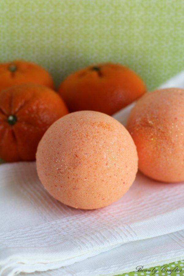 Orange Bath Bombs