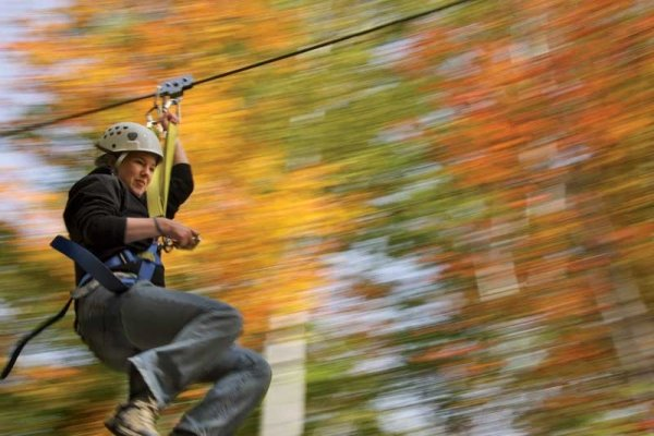 What Better Location Could There Be For Us Ziplines Than New England In The Fall Operated By Berkshire East Canopy Tours Zipline