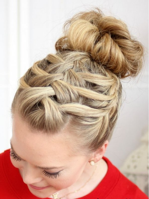 Criss Cross Braid Hair Hairstyle Face French