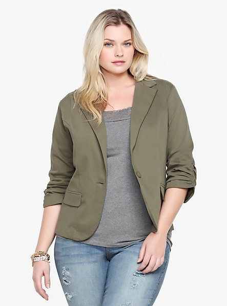 Olive Green Blazer Photo Album - Reikian