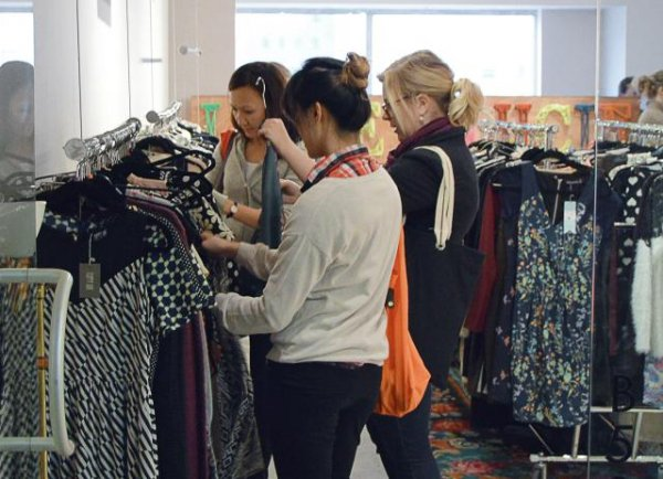 Sample Sales at California Market Center
