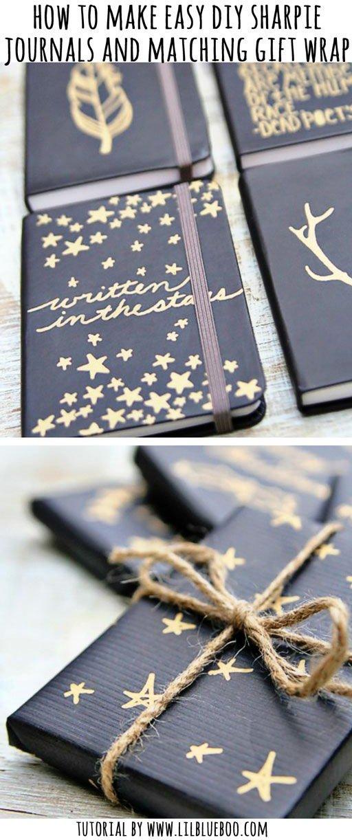 Sharpie Journals