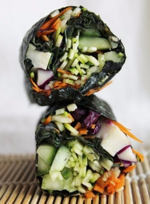 Raw Nori Wraps