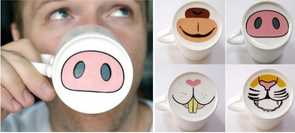 Animal face mugs get your doodle on 24 sharpie crafts for Animal face mugs