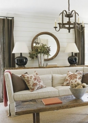 Neutral palette 9 rustic chic decor ideas for your home for Rustic chic home decor